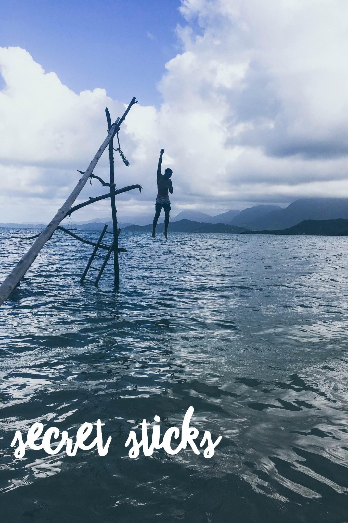 Secret Sticks + SaltWaterVibes