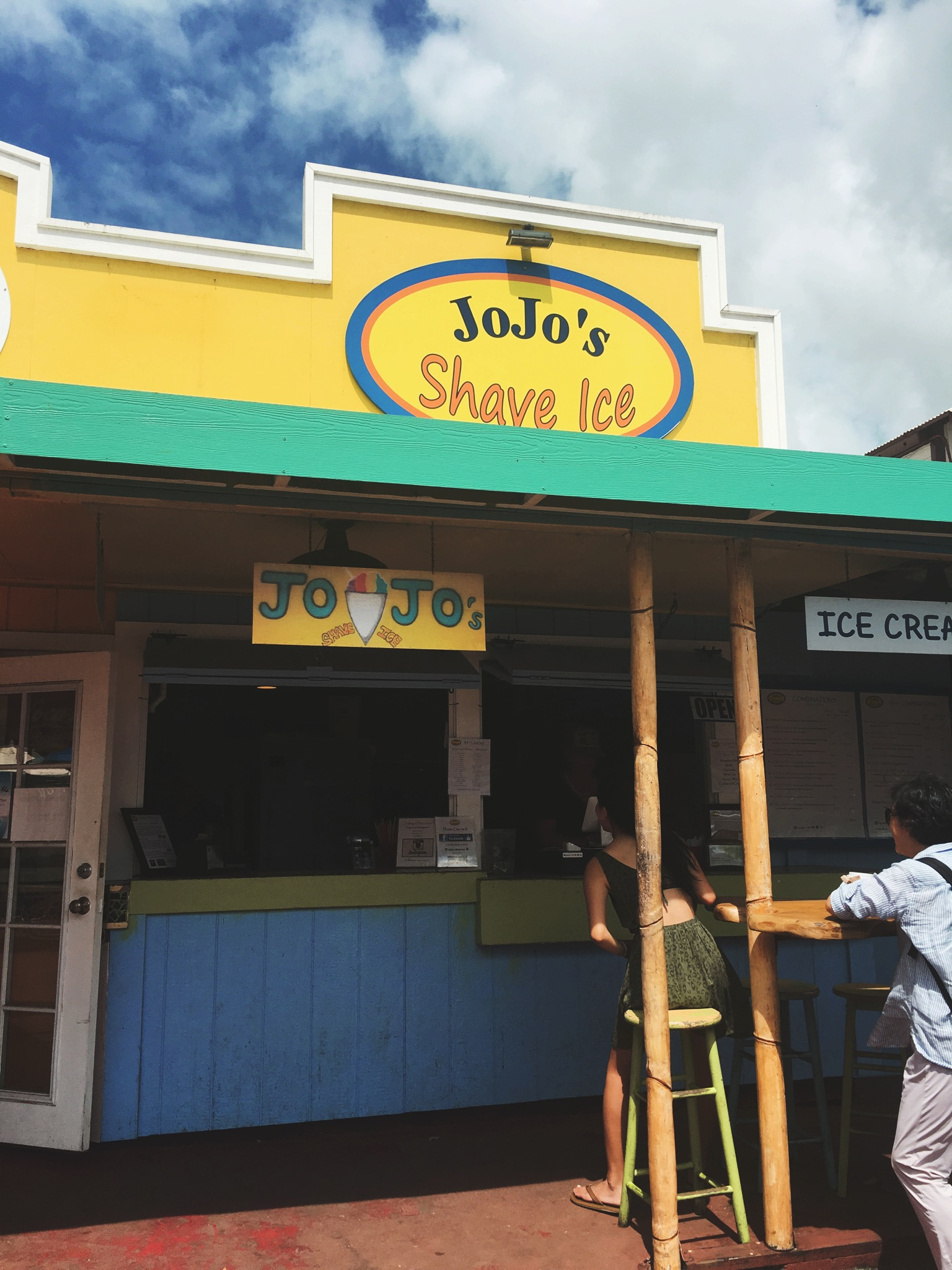 Jo-Jo Shave Ice + SaltWaterVibes
