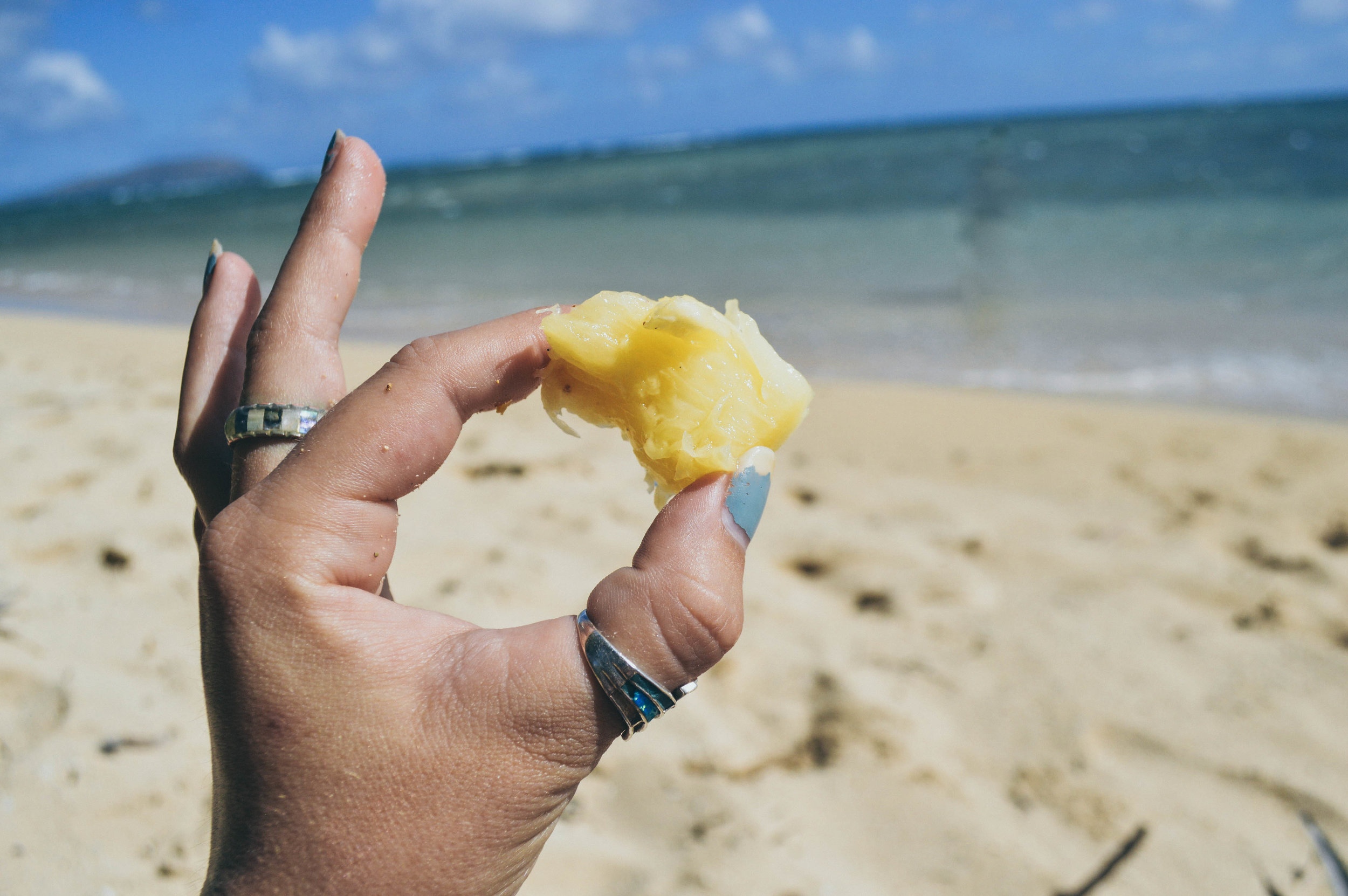How To Carve a Pineapple + SaltWaterVibes