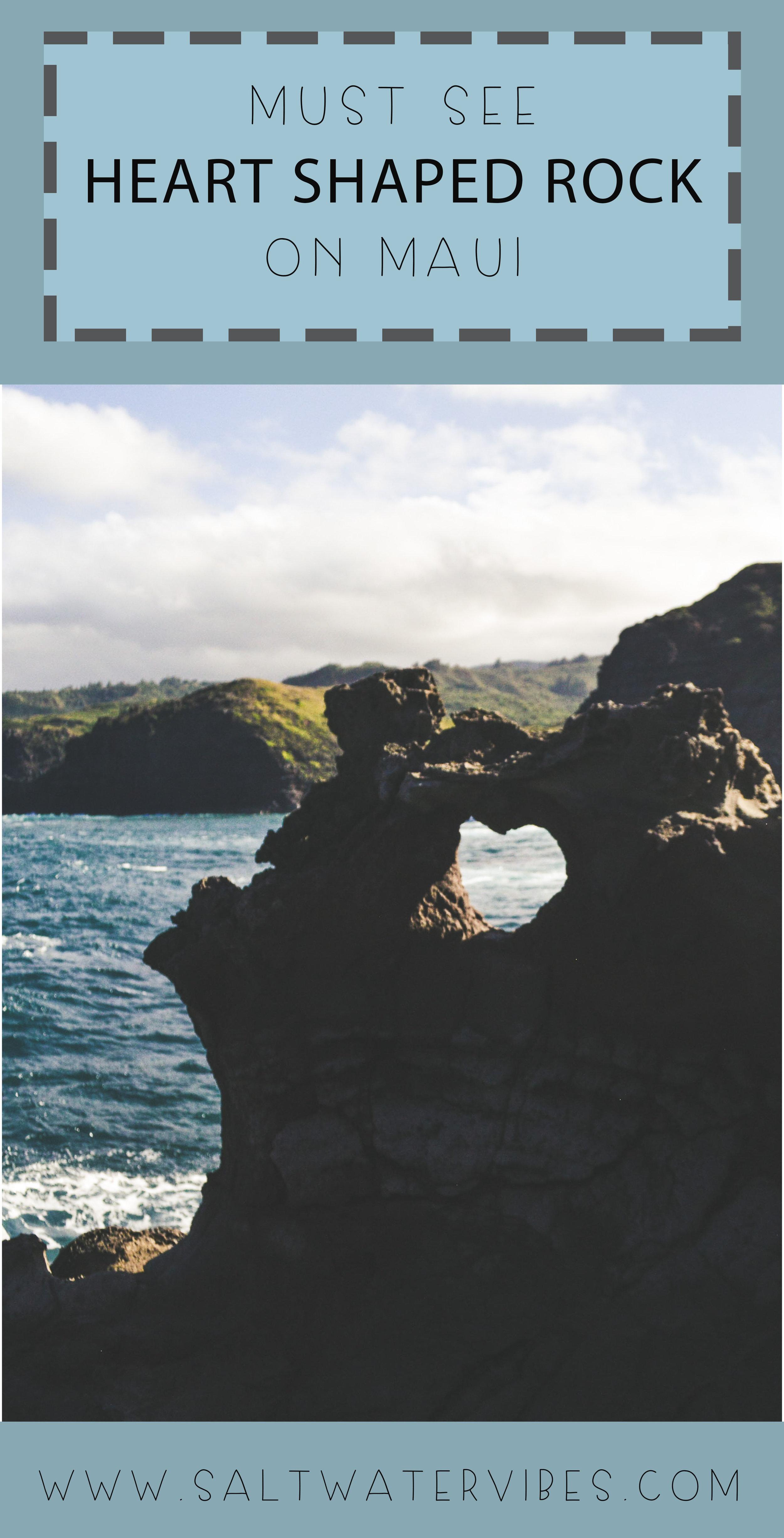 Heart Shaped Rock + SaltWaterVibes