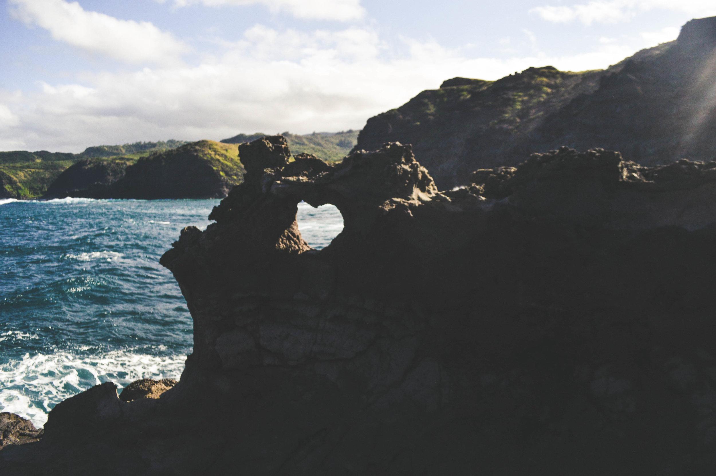 Heart Shaped Rock Maui + SaltWaterVibes