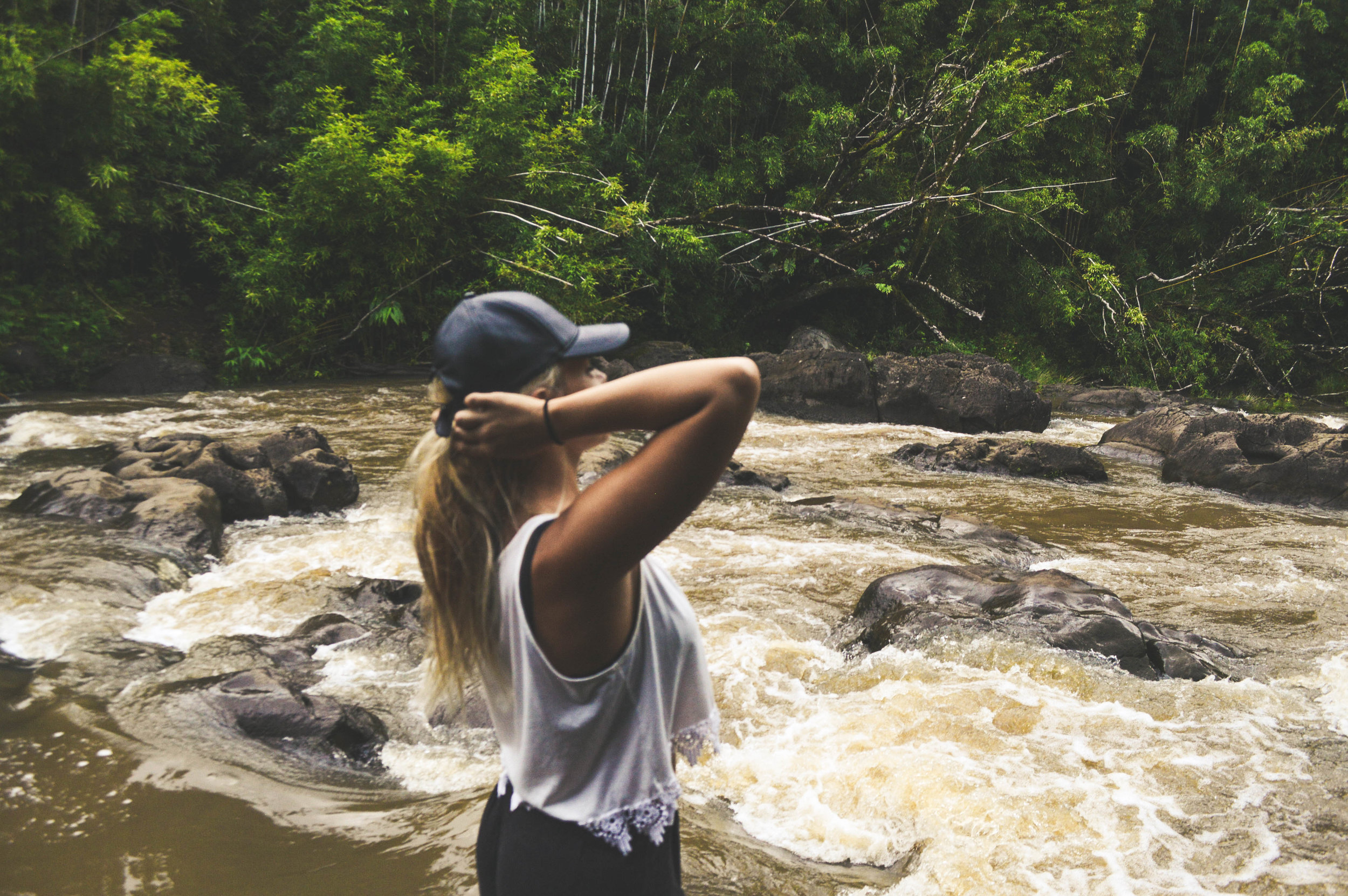 Bamboo Forest Waterfall Hike On Maui + SaltWaterVibes