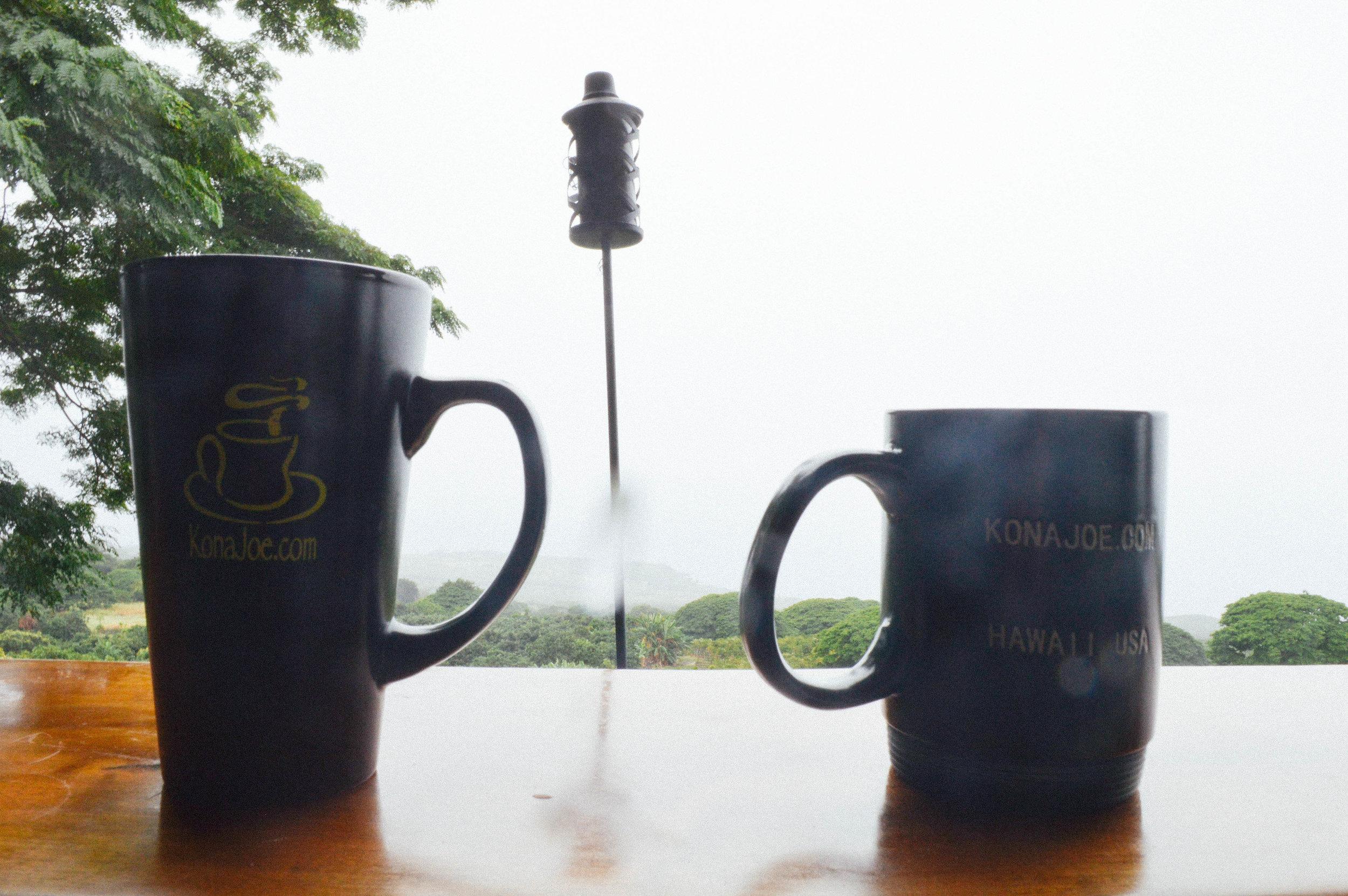 Kona Joes Coffee Big Island Hawaii + SaltWaterVibes
