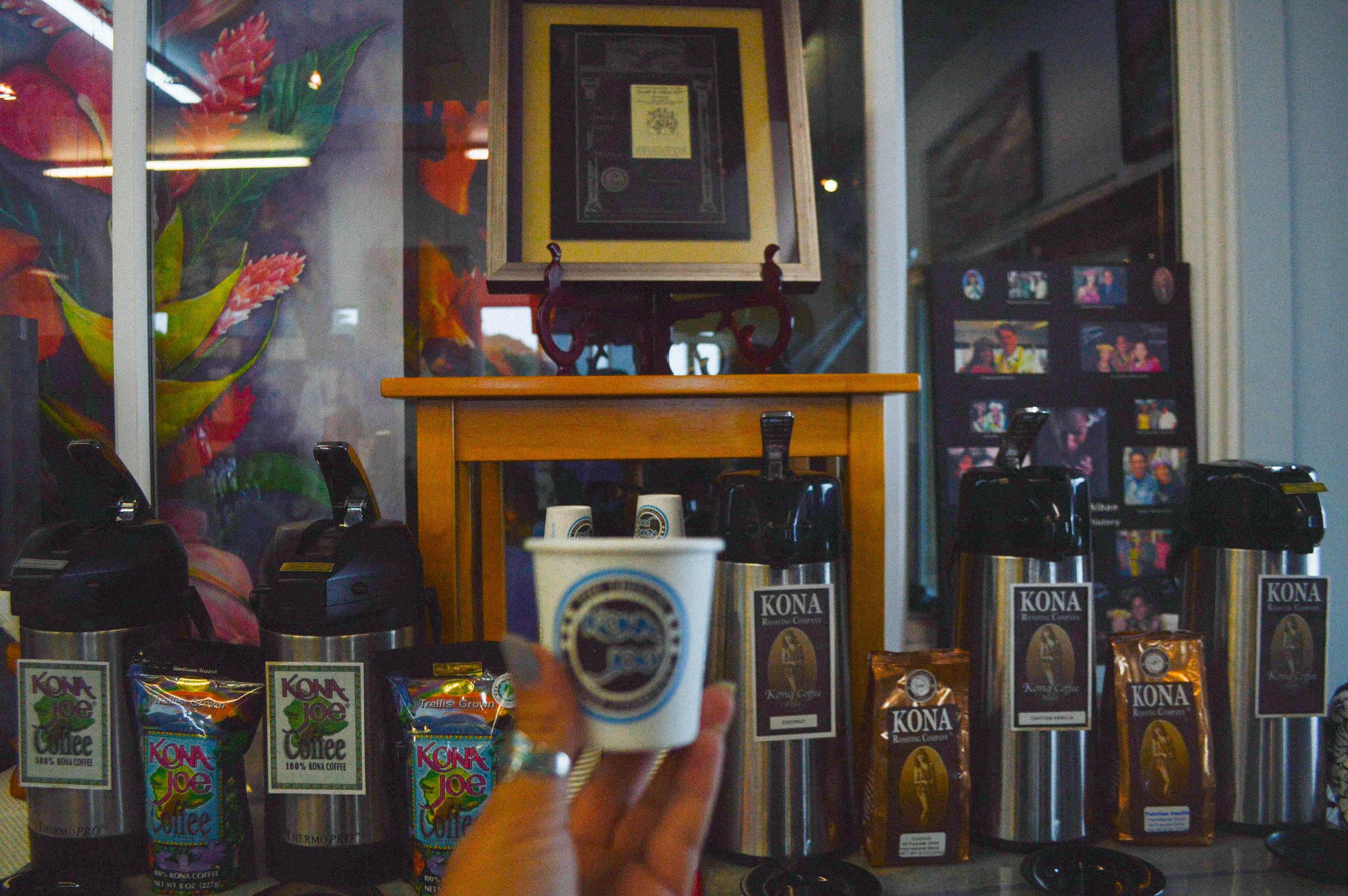 Kona Joe Coffee Big Island Hawaii + SaltWaterVibes