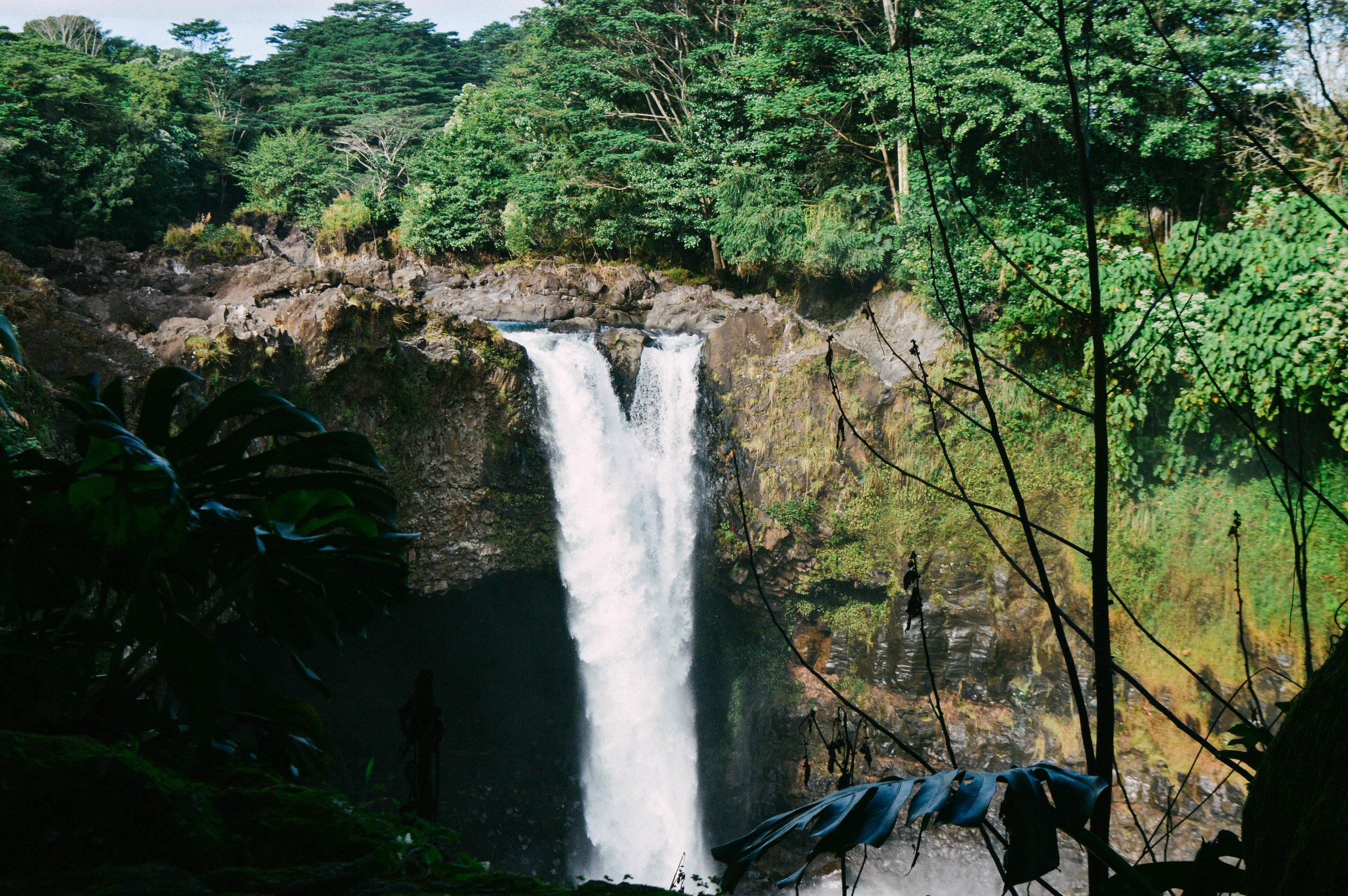 Rainbow Falls Big Island Hawaii + SaltWaterVibes
