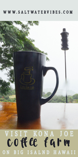 Tour Kona Joe Coffee Farm + SaltWaterVibes