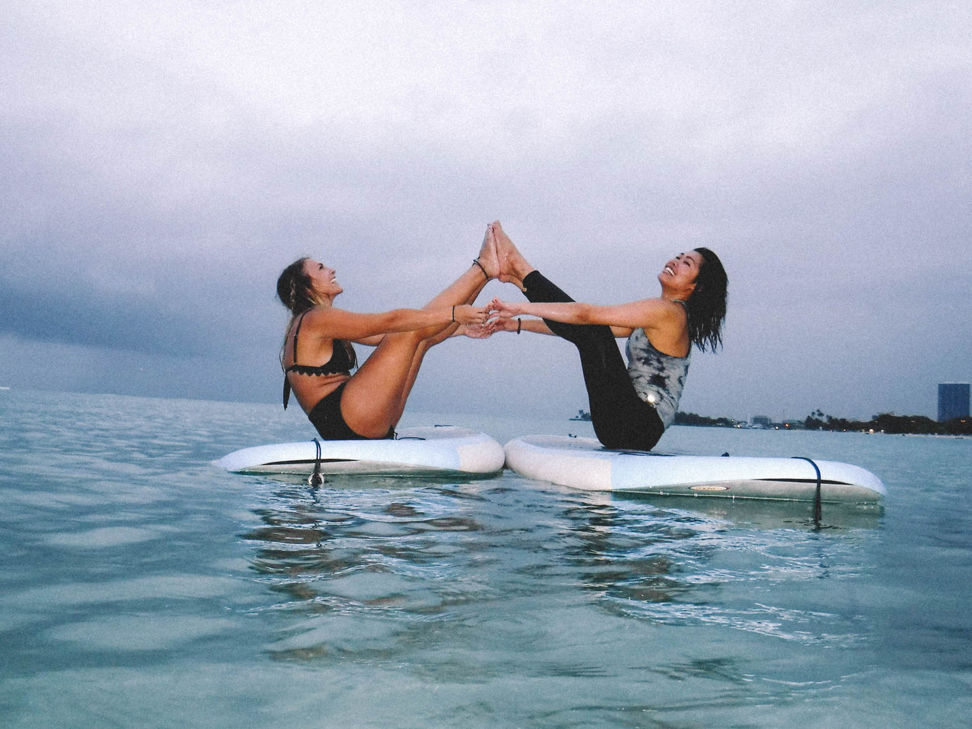 SUP Yoga Hawaii + SaltWaterVibes