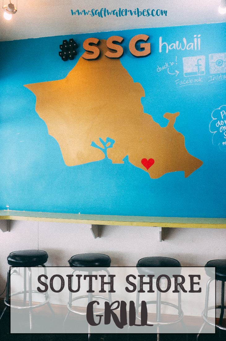 South Shore Grill + SaltWaterVibes