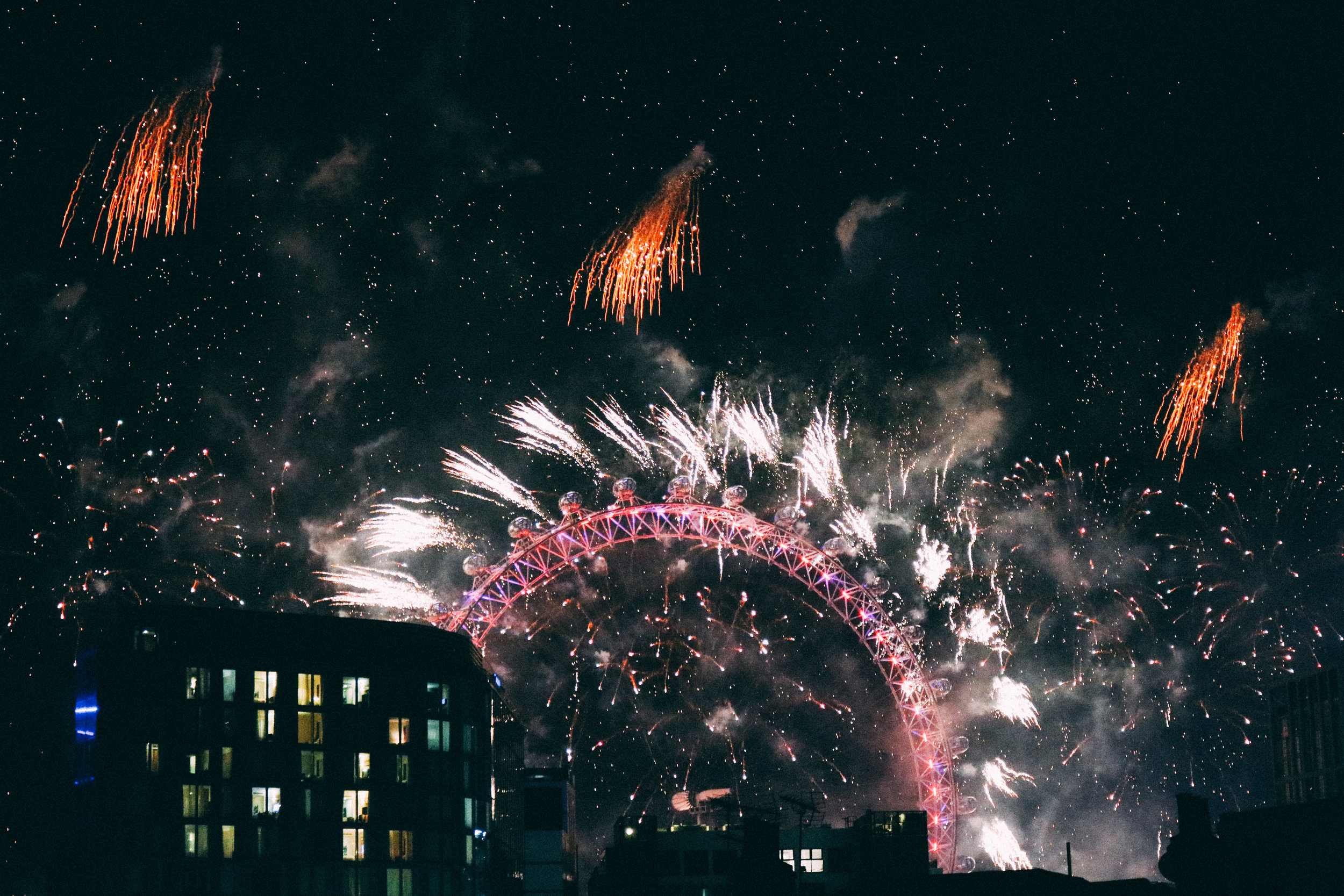 How to See London Fireworks on New Years | SaltWaterVibes