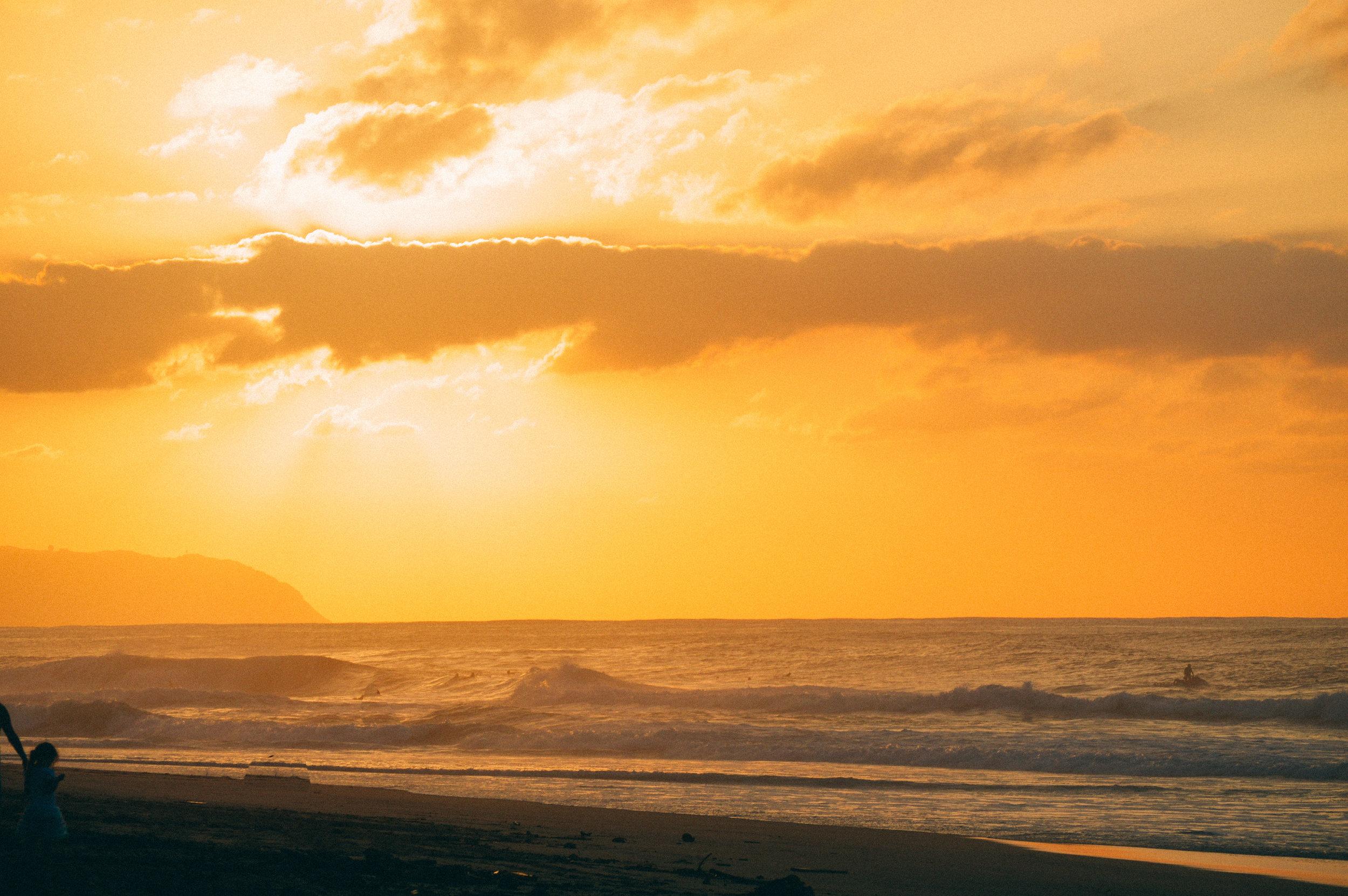 Sunset Beach   SaltWaterVibes