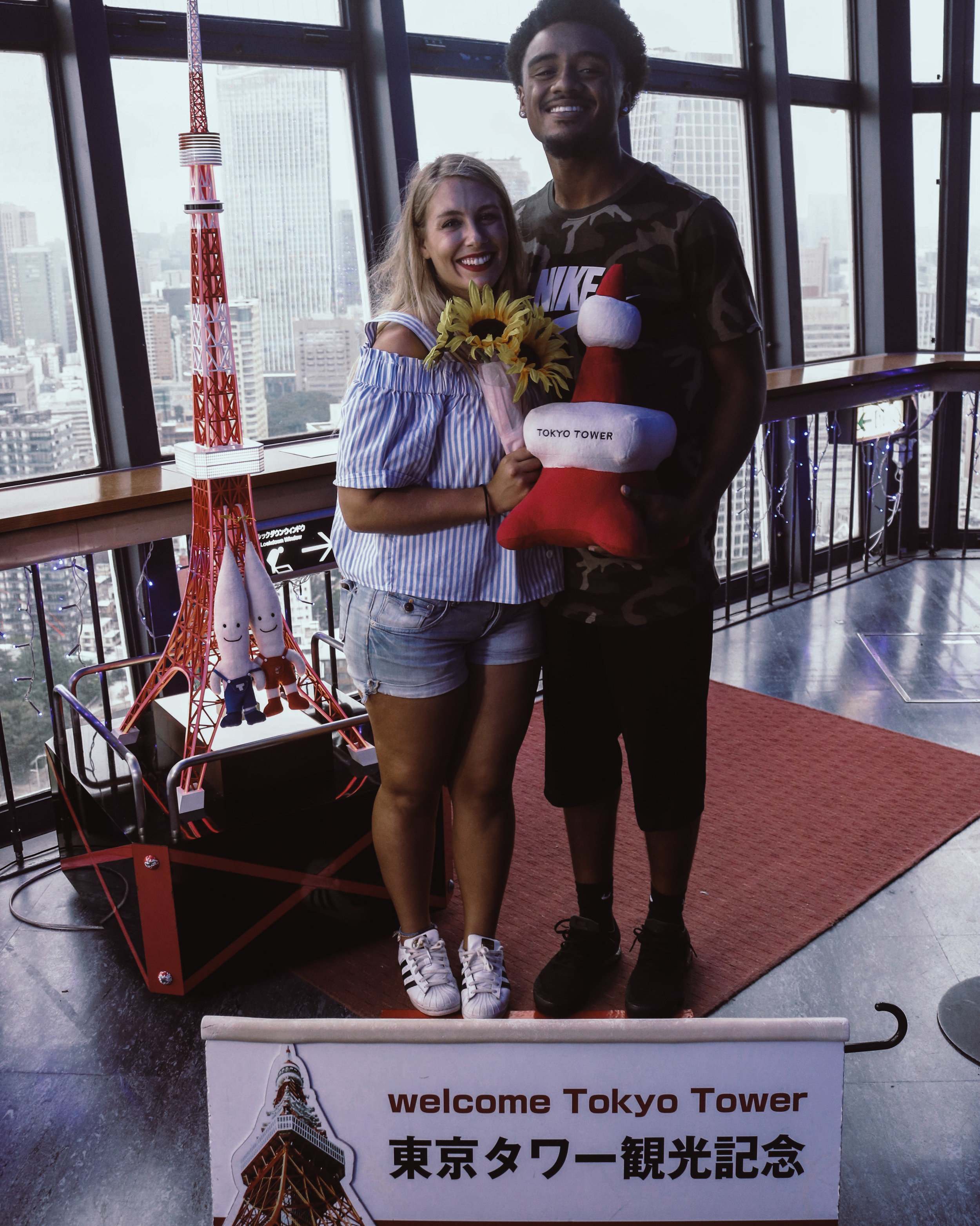 An Adventures Up Tokyo Tower | SaltWaterVibes
