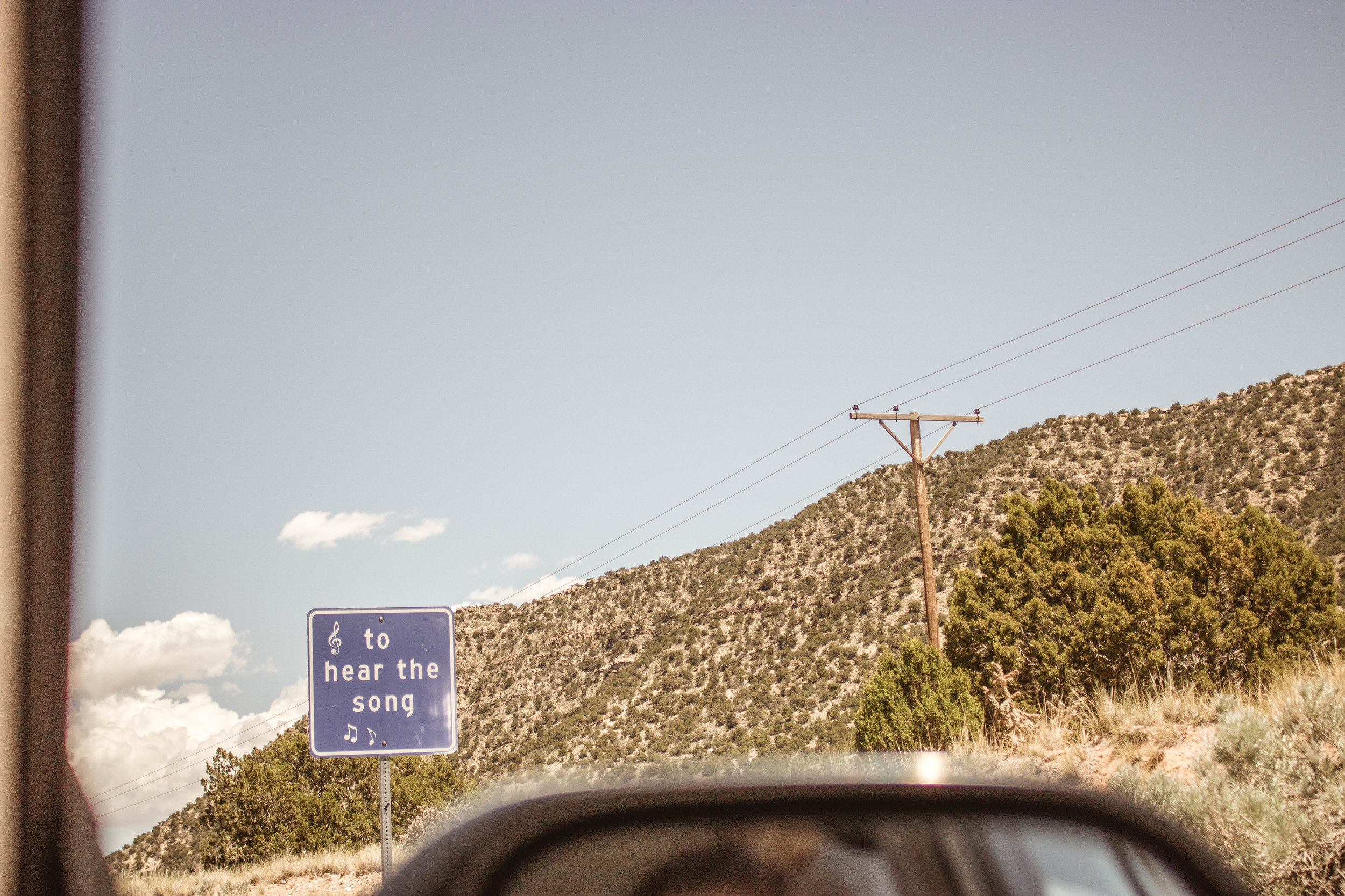 Musical Highway New Mexico | SaltWaterVibes