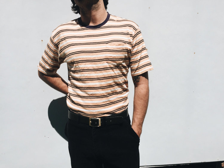 Striped Tee from  The Dazed and Reused