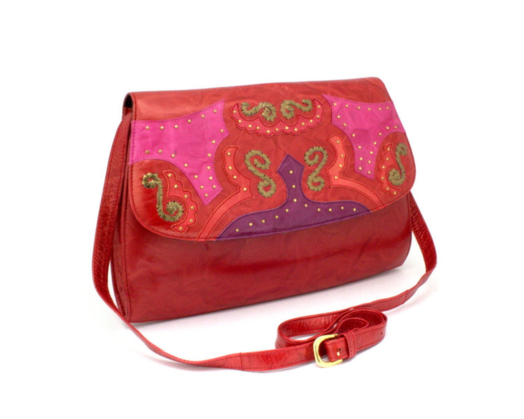 Margaret Errol Vintage 80s Handbag from  Funky Sensations