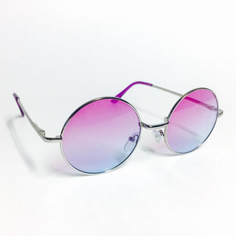 Gradient Purple Lennon Glasses from  Vivvid LAD Designs