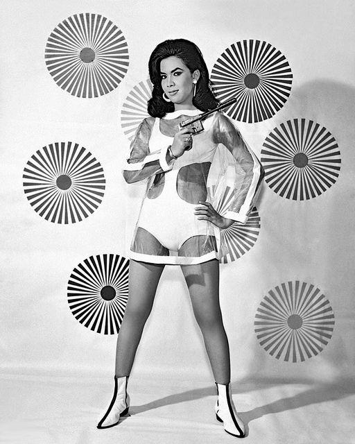 1960s Space Age Plastic Dress