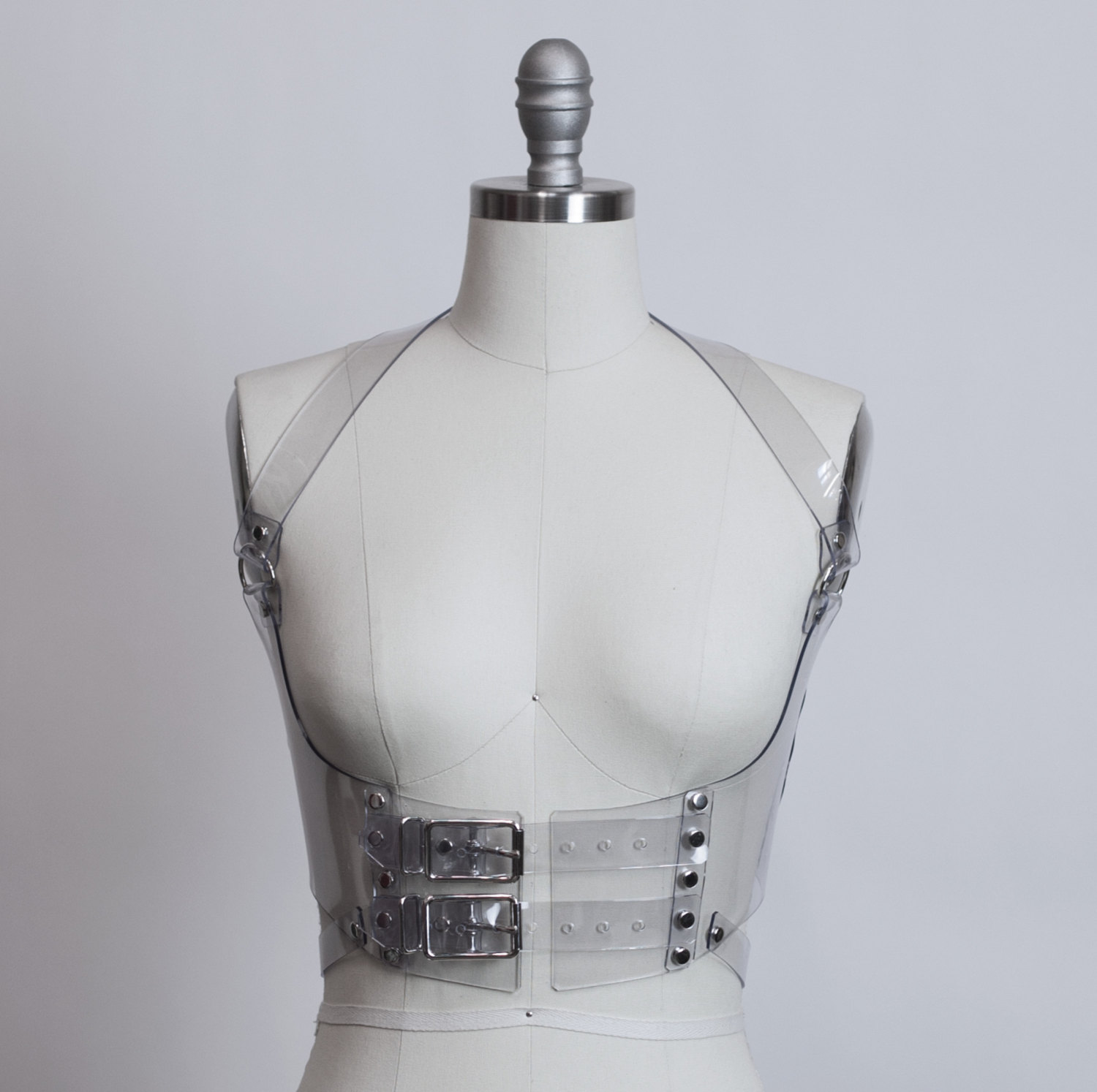 Clear Plastic Harness from  Apatico