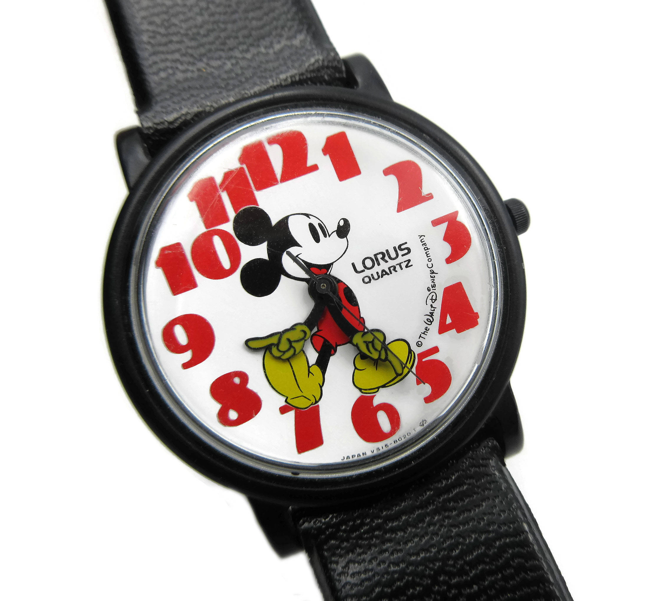 Lorus Quartz Mickey Mouse Watch from Zephyr Vintage