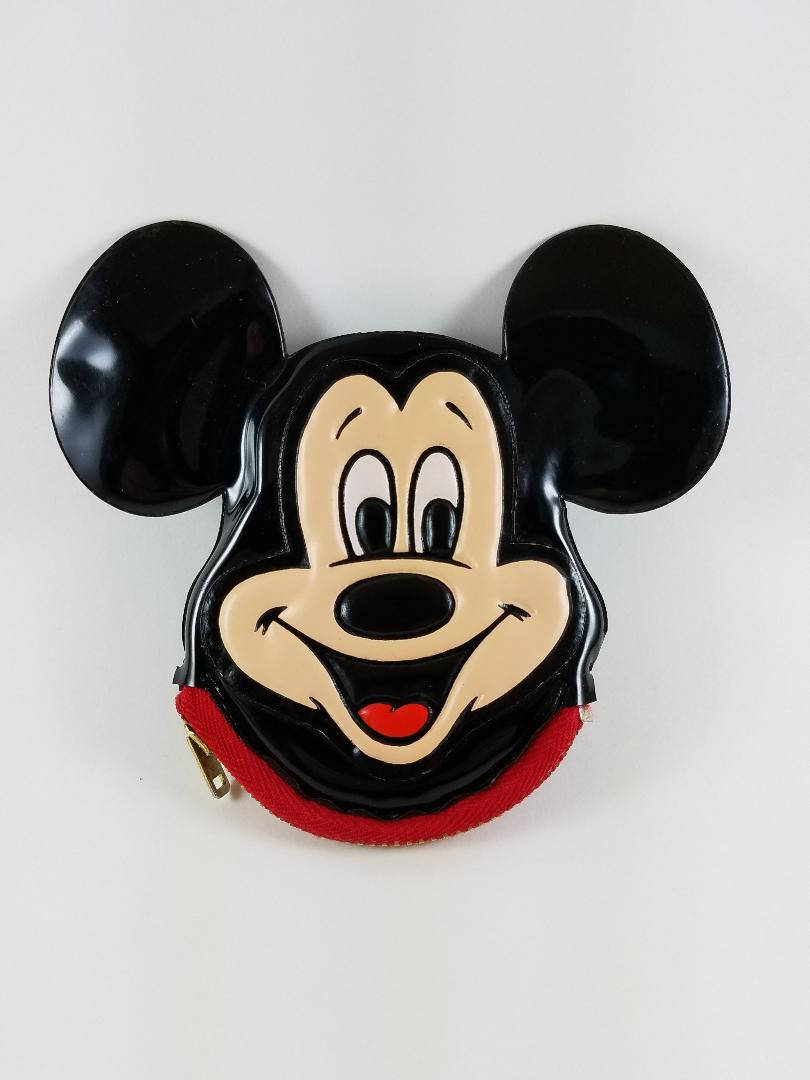 Cute Disneyland Mickey Mouse Ears Coin Purse from Vintage Disneyland 55