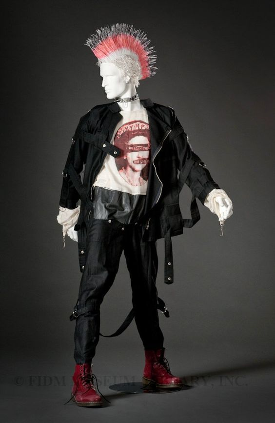 Bondage Jackets and Pants were an original Seditionaries design and have been replecated by fashion designers many times over since.