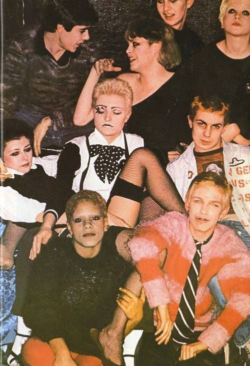 The Bromley Contingent were a group of followers of the Sex Pistols. Many went on to form bands themselves.