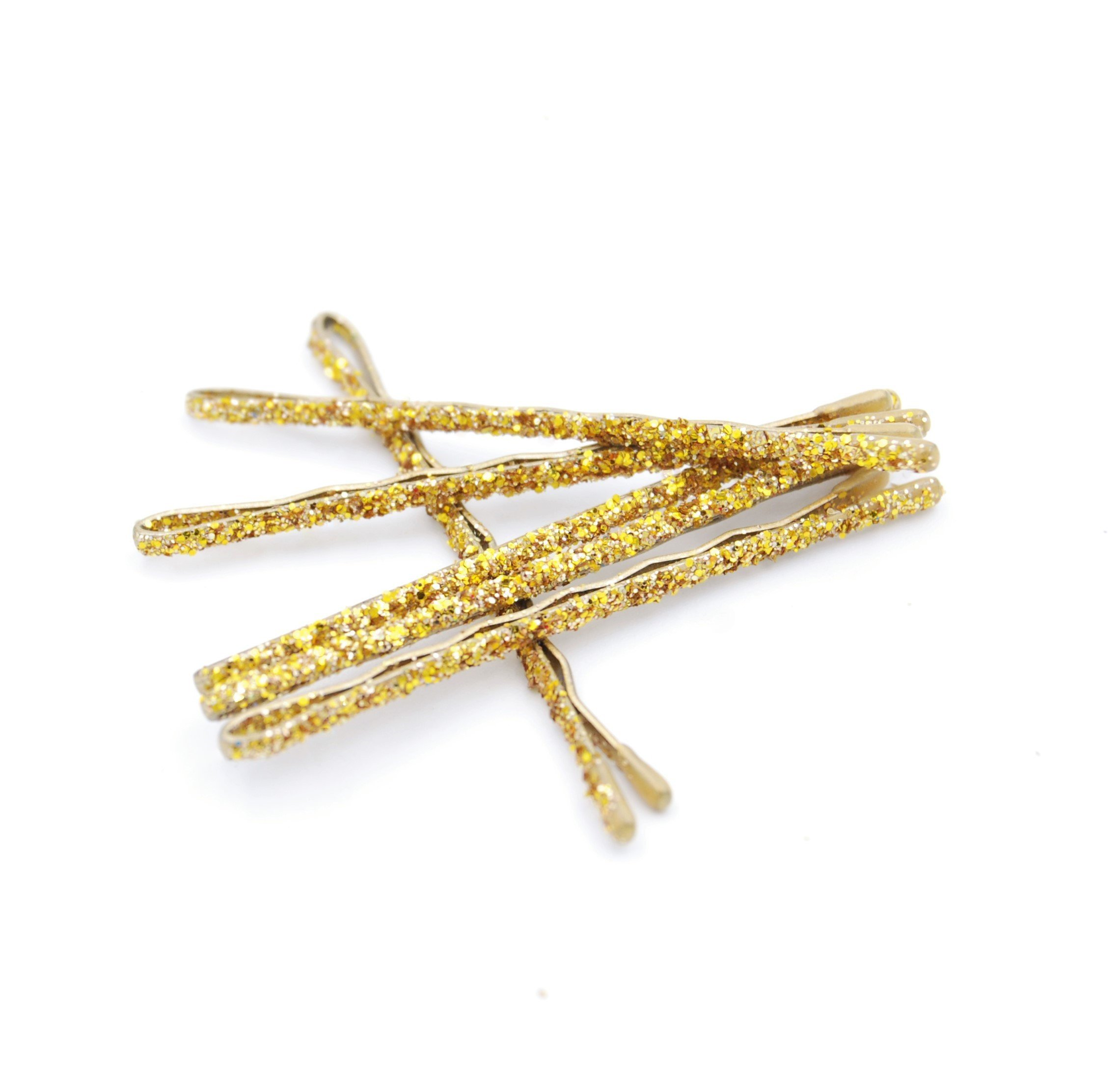 Gold Glitter Bobby Pins  for something special