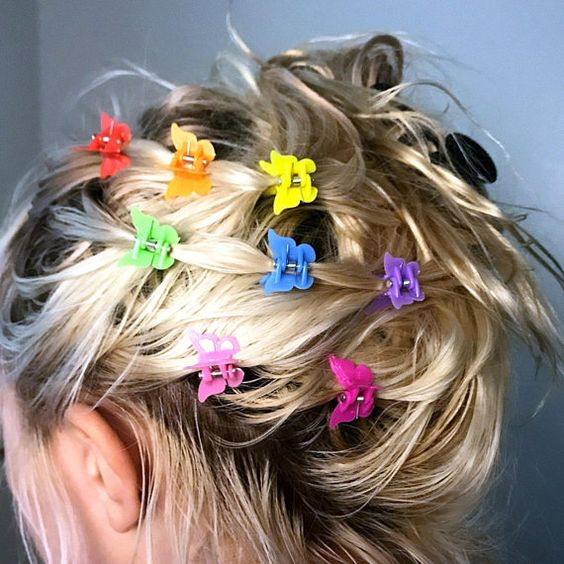 90s Butterfly Clips