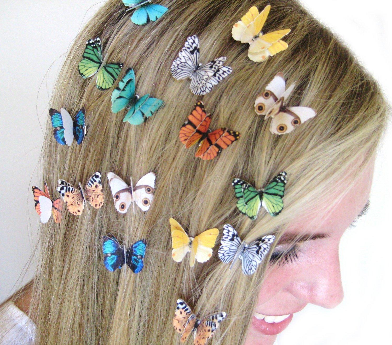 Monarch Hair Clips