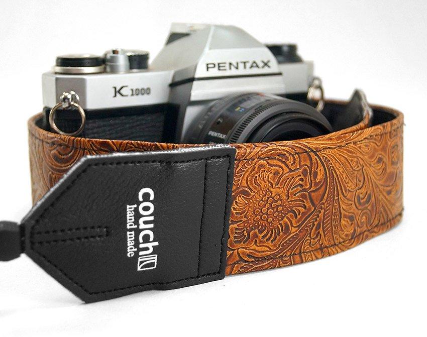 V egan Leather Camera Strap