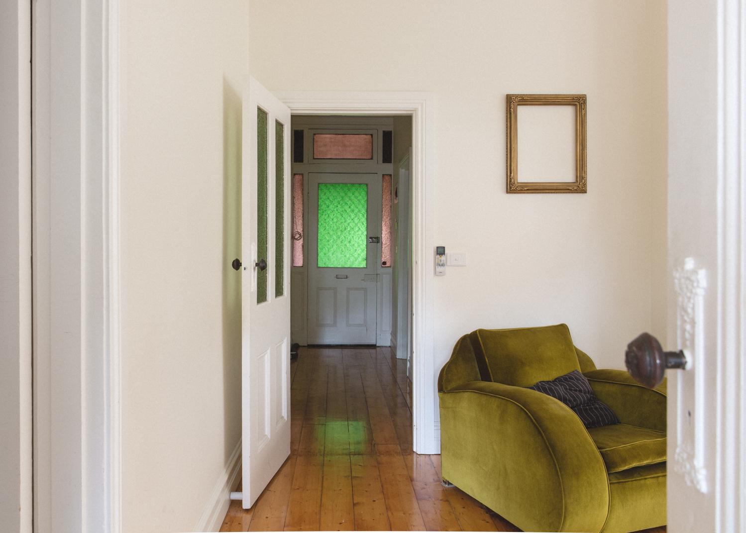 sharehome lounge room hallway emma franka martijn