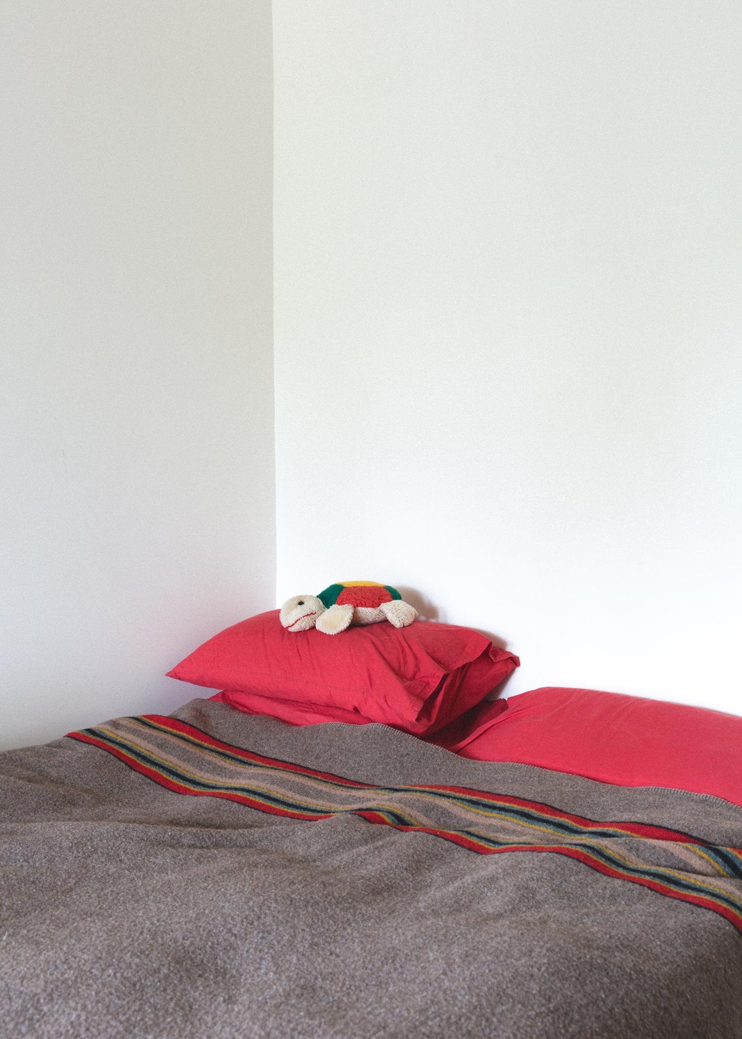 bed bedroom home interior