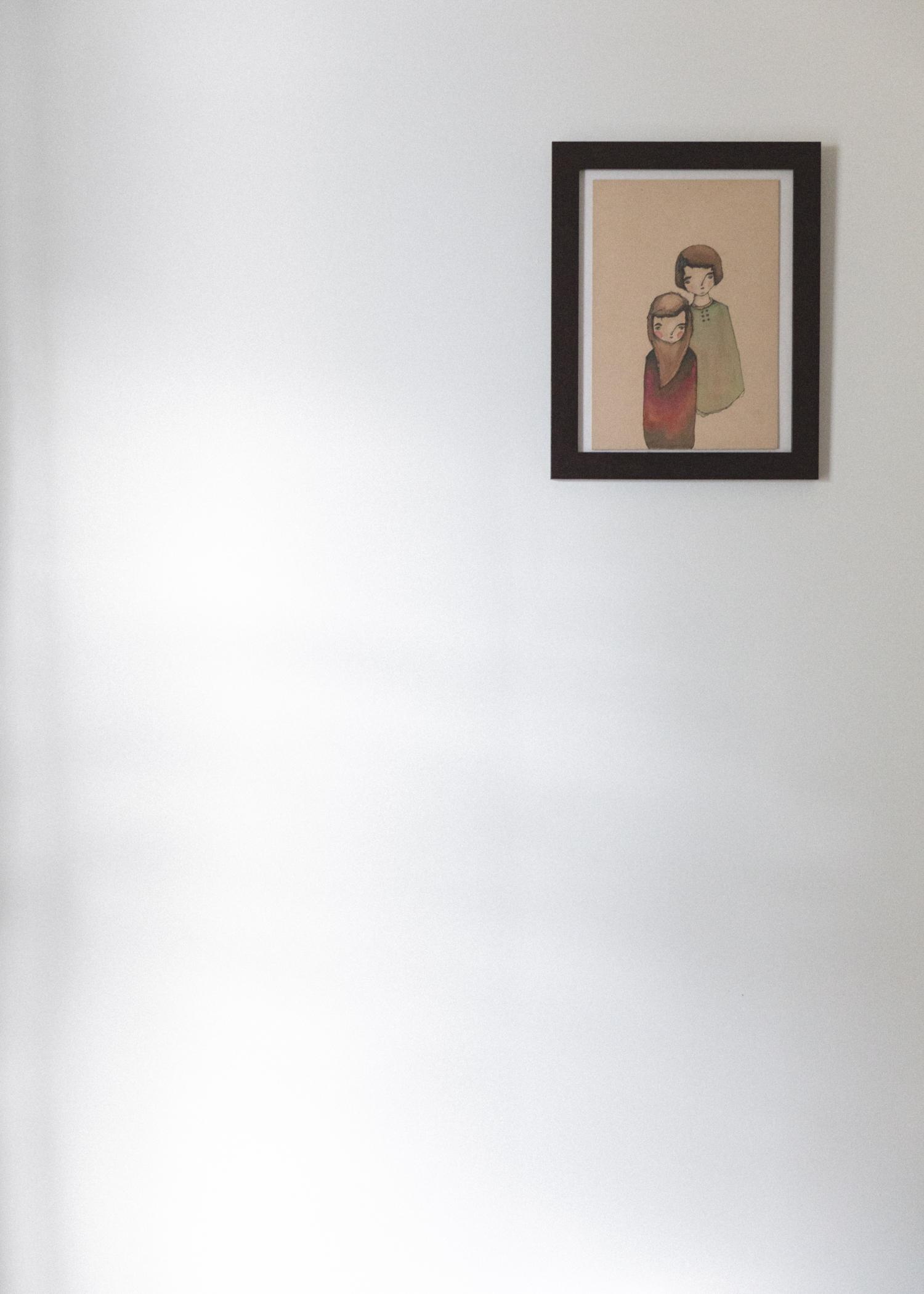 natural light bedroom wall