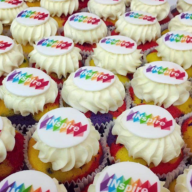 Logo design + cupcakes = ❤️ 😍 Celebrating IDAHOBIT day with some special treats 🍩  #INspire #logodesign #branddesign #cupcakes #designer #LGBTI+ #idahobitday