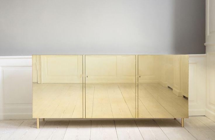 STUDIO ILSE Ilse Crawford brass furniture