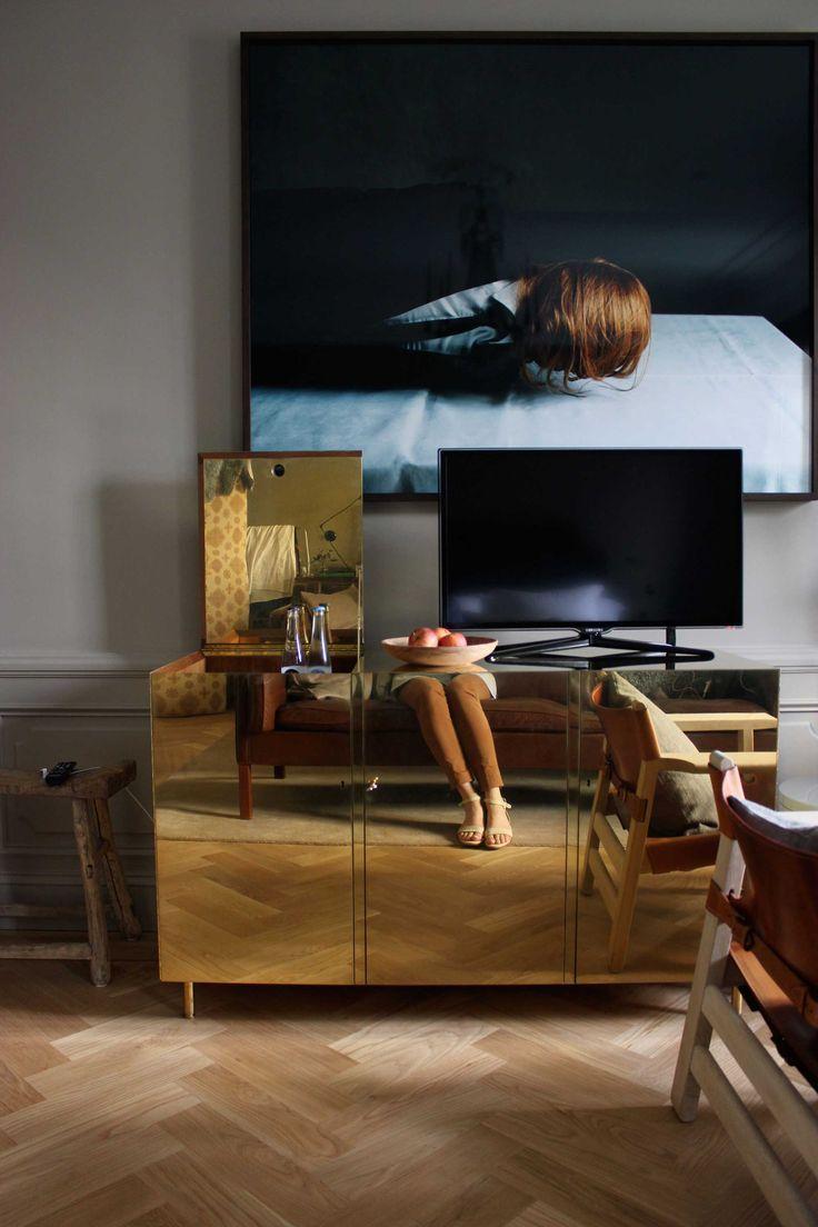 STUDIOILSE Ilse Crawford brass console furniture