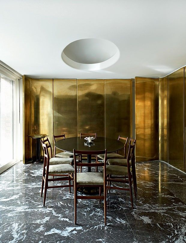 Vogue Casa Brass cabinets kitchen
