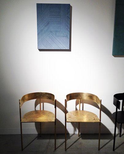 Philippe Malouin brass chiars
