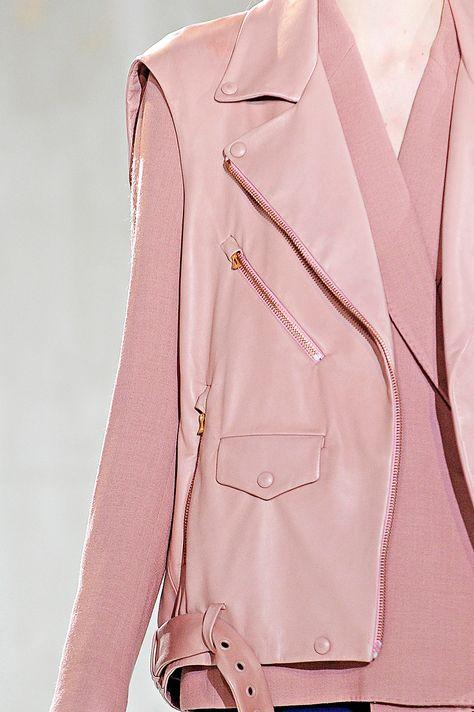Acne A/W 11 acne studios pink vest