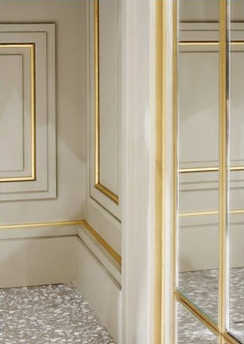 Joseph Dirand Brass doors details