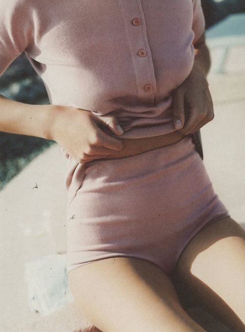 The Gentlewoman pink suit summer