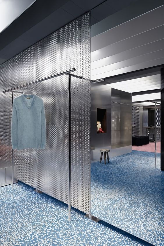 Acne store by Bozarthfornell Architects
