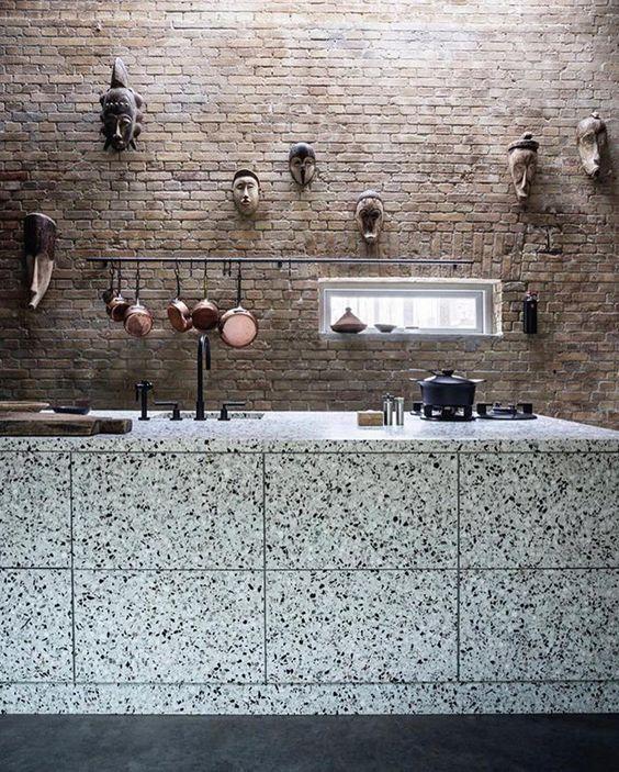 David Thulstrup terrazzo kitchen