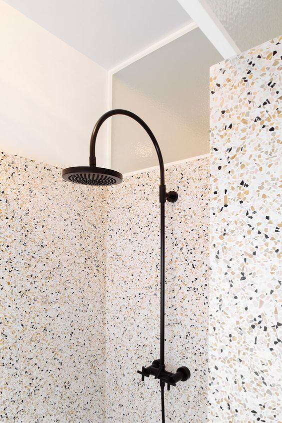 Made Architects Terrazzo shower wall
