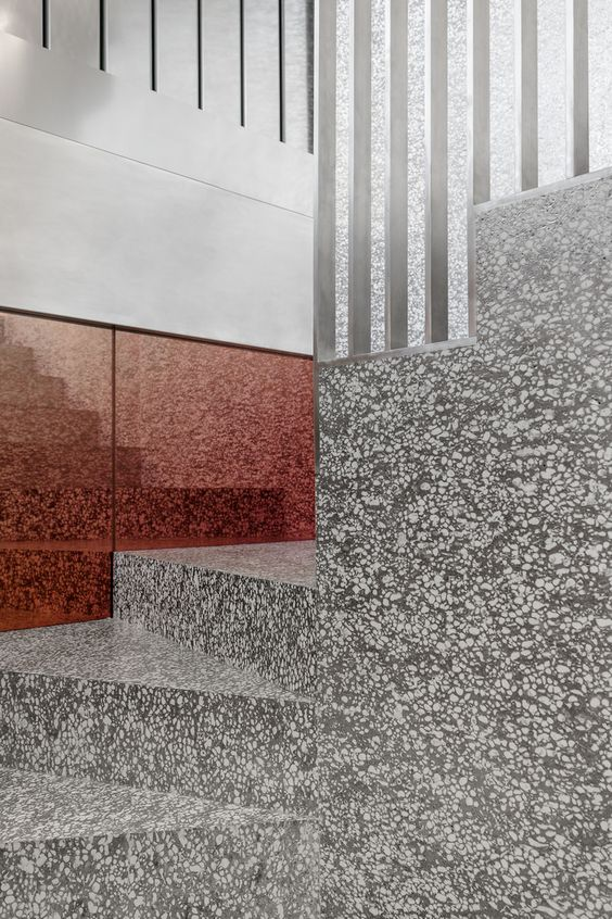 Terrazzo in Repossi store by OMA, Rem Koolhaas