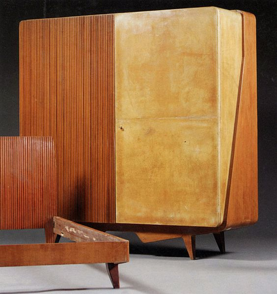 Gio Ponti wood furniture