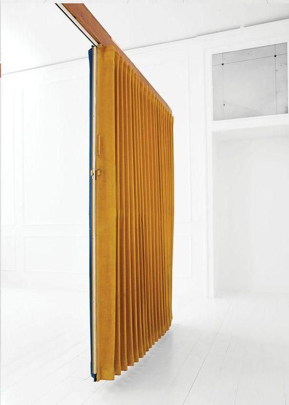 Gio Ponti room divider in velvet ll