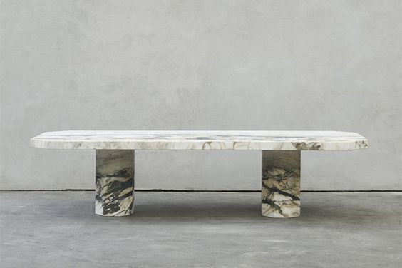Joseph Dirand marble table / furniture design