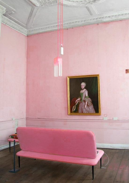 Pink space and classicist  elements
