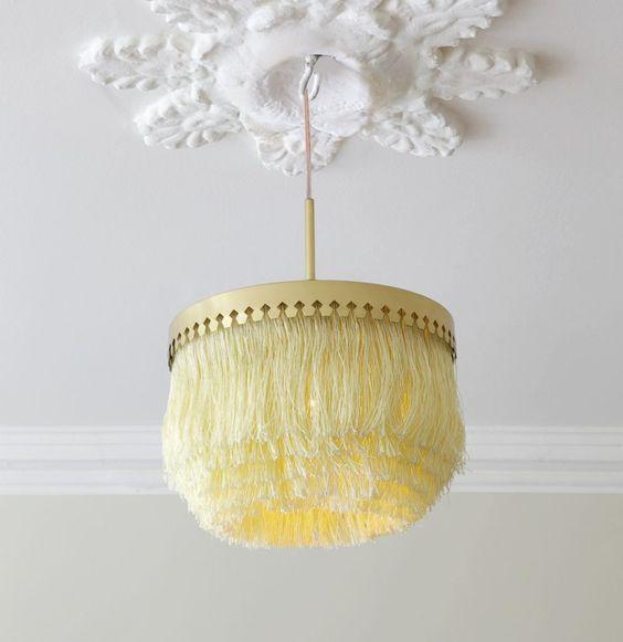 Hans-Agne Jakobsson yellow tassels lighting