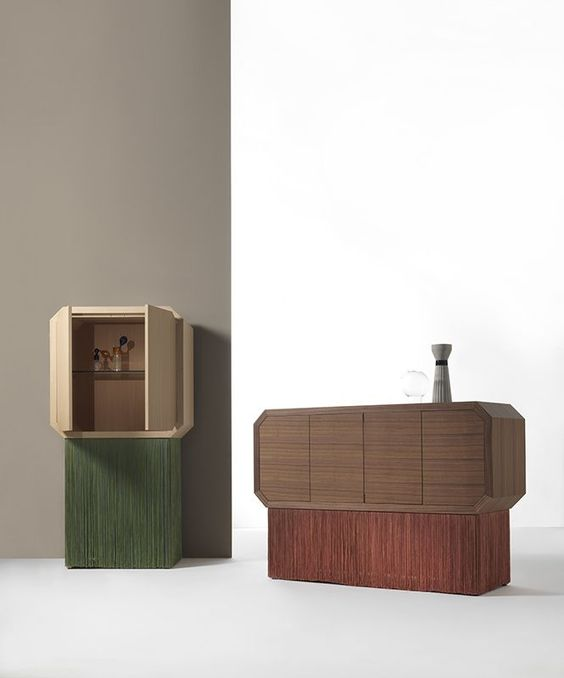 Cristina Celestino fringes cabinets